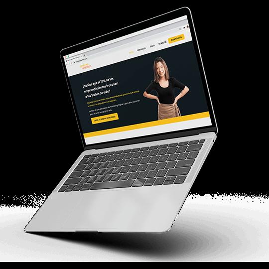 diseñadora web en wordpress para emprendedores y pequeños negocios